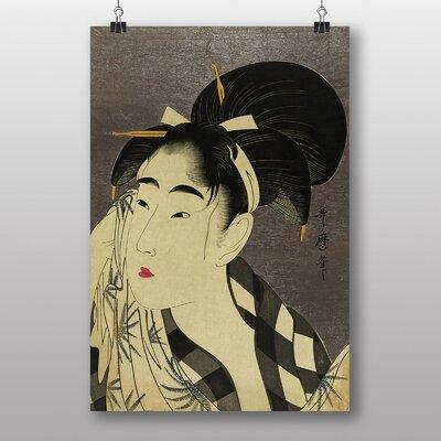 Big Box Art Vintage Japanese Oriental Art No.18 by Kitagawa Utamaro Art Print