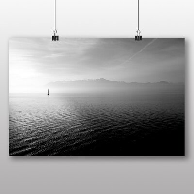 Big Box Art 'Lonely Boat on the Lake' Photographic Print