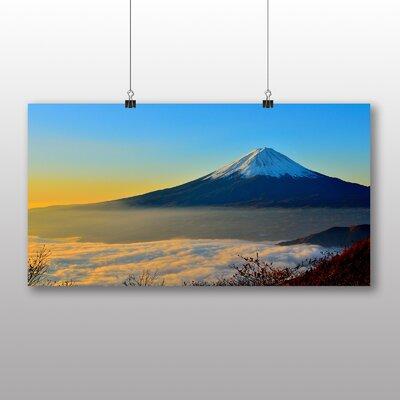 Big Box Art Mount Fuji Mountain No.3 Photographic Print on Canvas