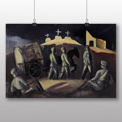 Big Box Art 'Three Crosses' by Jazeps Grosvalds Art Print