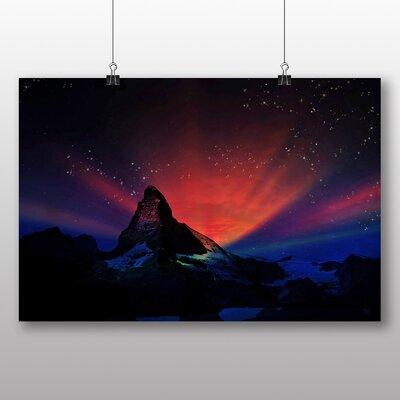 Big Box Art Matterhorn Mountain No.1 Graphic Art