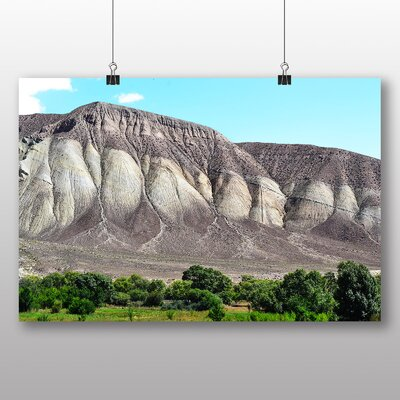 Big Box Art Kyrgyzstan Mountains No.1 Photographic Print Wrapped on Canvas