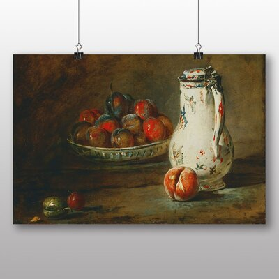 Big Box Art 'Still Life No.4' by Jean Chardin Art Print