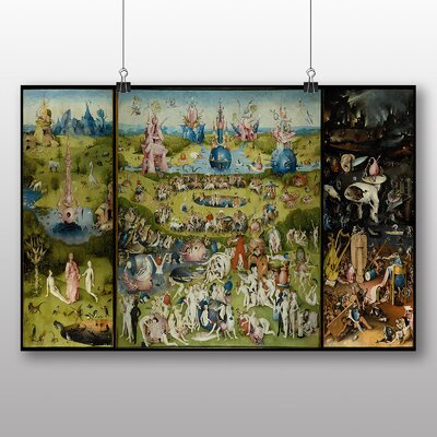 Big Box Art 'The Garden of Earthly Delights' by Hieronymous Bosch Art Print