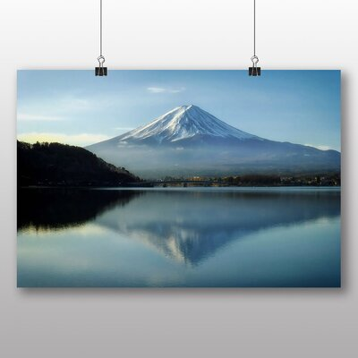 Big Box Art Mount Fuji Mountain No.2 Photographic Print on Canvas