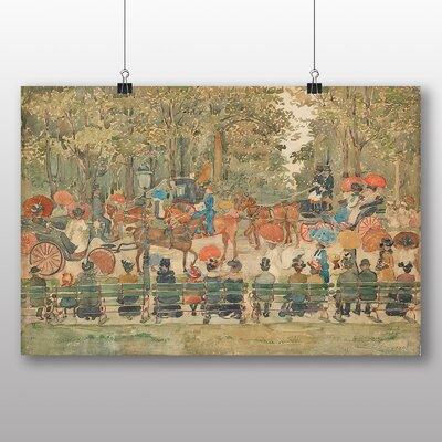 Big Box Art 'Central Park No.2' by Maurice Prendergast Art Print