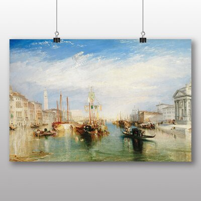 Big Box Art 'Venice from the Porch of Madonna' by Joseph Mallord William Turner Art Print