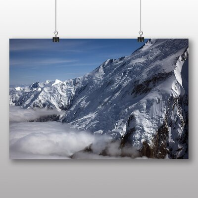 Big Box Art Mt Denali Mckinley Mountain No.2 Photographic Print on Canvas