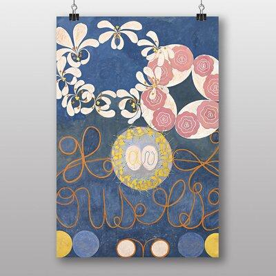"Big Box Art ""Floral"" by Hilma af Klint Graphic Art Wrapped on Canvas"