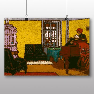 Big Box Art 'Interior' by Jozsef Rippl Ronai Art Print