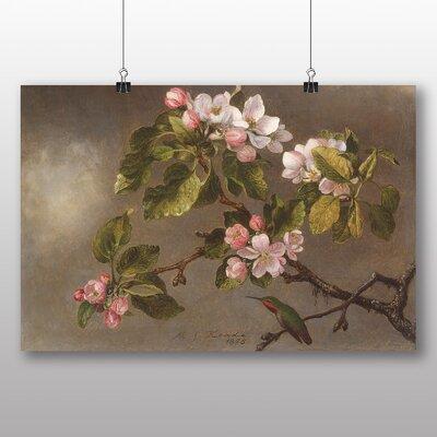 Big Box Art 'Apple Blossom' by Martin Johnson Heade Art Print