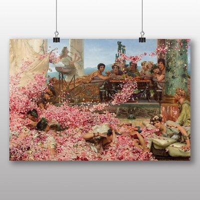 Big Box Art 'The Roses of Heliogabalus' by Lawrence Alma Tadema Art Print