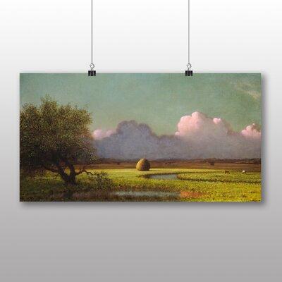 Big Box Art 'Sunlight and Shadow, Newbury Marshes' by Martin Johnson Heade Art Print