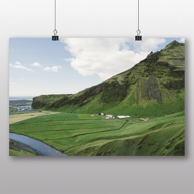 Big Box Art 'Iceland Landscape and Terrain' Photographic Print