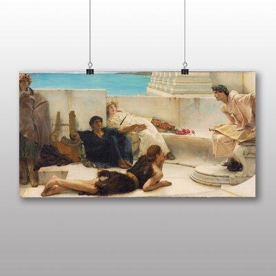 Big Box Art 'A Reading from Homer' by Lawrence Alma Tadema Art Print
