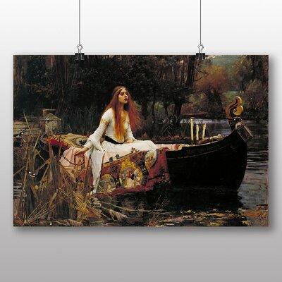 Big Box Art 'The Lady of Shalott' by John William Waterhouse Art Print