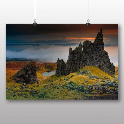 Big Box Art Isle of Skye Scotland No.4 Photographic Print on Canvas
