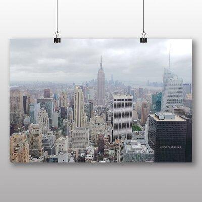 Big Box Art New York City Skyline USA No.8 Photographic Print Wrapped on Canvas