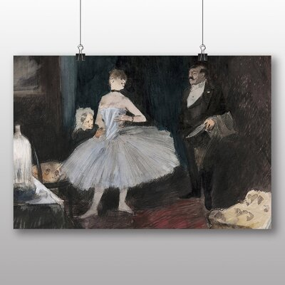 Big Box Art Visit in the Dancers Room' by Jean-Louis Forain Art Print