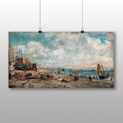 Big Box Art Marine Parade Chain Pier' by John Constable Art Print