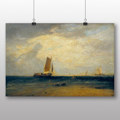 Big Box Art 'Fishing Upon he Blythe Sand' by Joseph Mallord William Turner Art Print