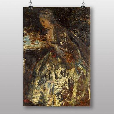 "Big Box Art ""The Little Marquise"" by Jacob Maris Art Print"