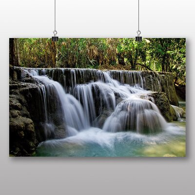 Big Box Art Kuang Si Falls Laos Photographic Print