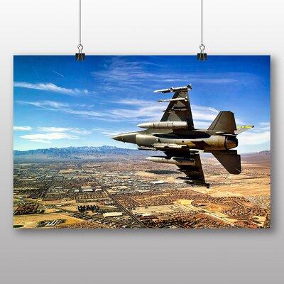 Big Box Art Jet Fighter Photographic Print