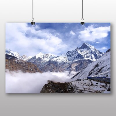 Big Box Art Landscape Nepal No.2 Photographic Print Wrapped on Canvas