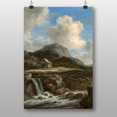 """Big Box Art """"Landscape No.7"""" by Jacob Ruisdael Art Print"""