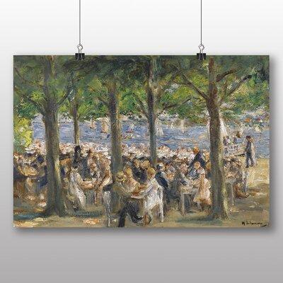 Big Box Art 'Beer Garden' by Max Liebermann Art Print