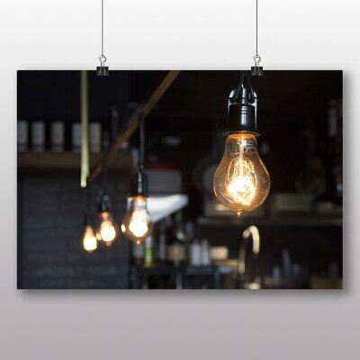 Big Box Art 'Light Bulbs No.3' Photographic Print
