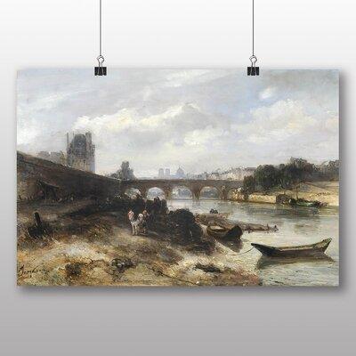 Big Box Art 'Bridge' by Johan Jongkind Art Print