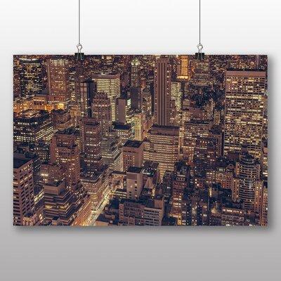 Big Box Art New York City Skyline USA No.19 Photographic Print on Canvas