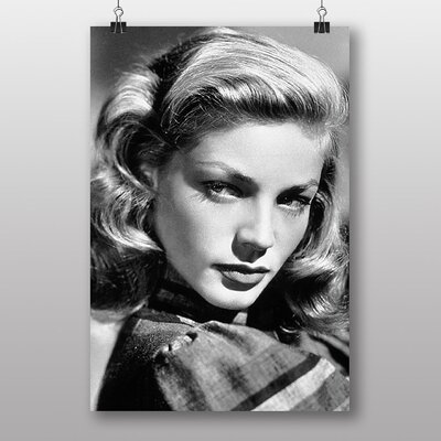 Big Box Art Lauren Bacall Photographic Print on Canvas