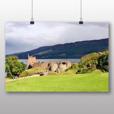Big Box Art Loch Ness Scotland Photographic Print Wrapped on Canvas