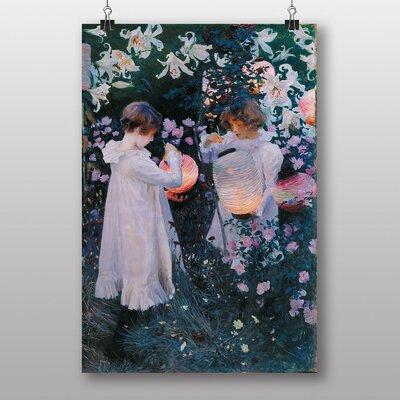 "Big Box Art ""Carnation, Lily, Lily, Rose"" by John Singer Sargent Art Print"