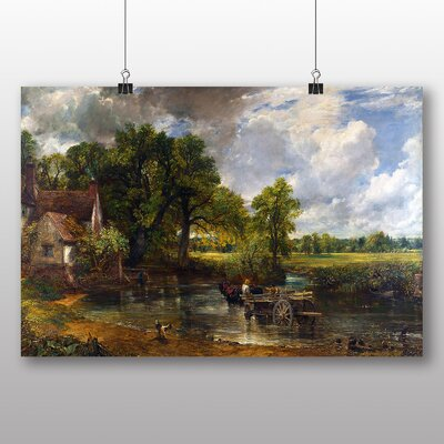 Big Box Art 'The Hay Wain' by John Constable Art Print