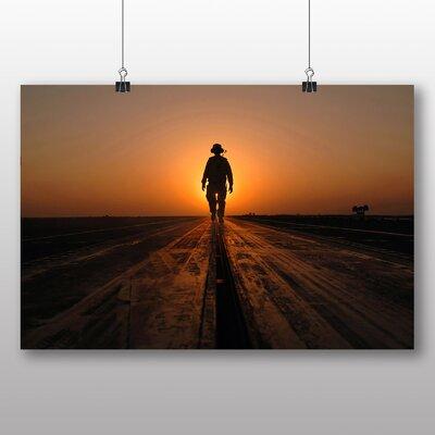 Big Box Art Lone Soldier Photographic Print