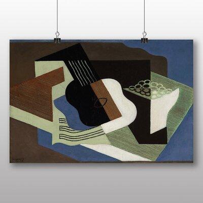 Big Box Art 'Guitar No.2' by Juan Gris Graphic Art