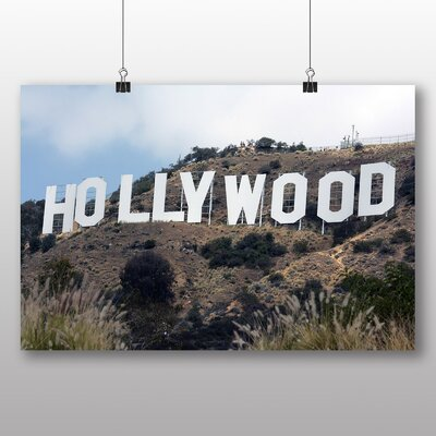 Big Box Art Hollywood Sign Los Angeles California USA Photographic Print
