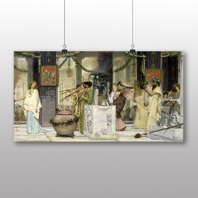 Big Box Art The Vintage Festival' by Lawrence Alma-Tadema Art Print