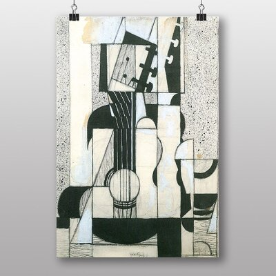 Big Box Art Guitar by Juan Gris Graphic Art