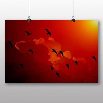 Big Box Art Migratory Flying Geese Photographic Print