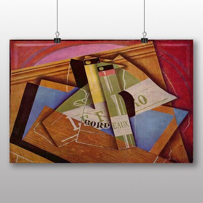 Big Box Art 'Still Life No.10' by Juan Gris Graphic Art