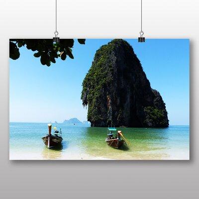 Big Box Art Krabi Boats Thailand Photographic Print