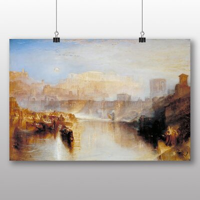 Big Box Art 'Agripina' by Joseph Mallord William Turner Art Print