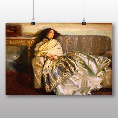 Big Box Art 'Repose' by John Singer Sargent Art Print