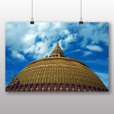 Big Box Art Pagoda Burma No.2 Photographic Print on Canvas