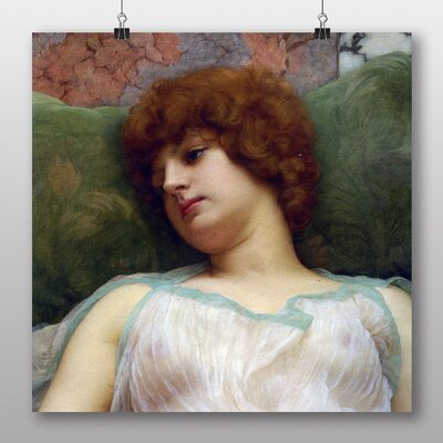 Big Box Art Idle Moments' by John William Godward Art Print